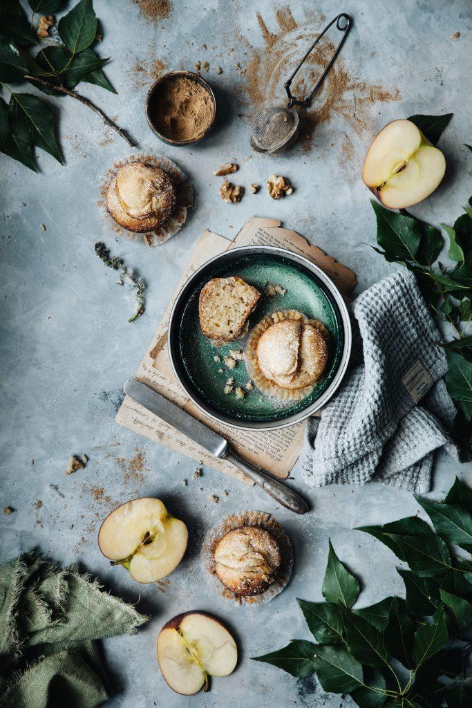 Muffins speziati con mele e noci gluten free e le cose for Cerco cose gratis